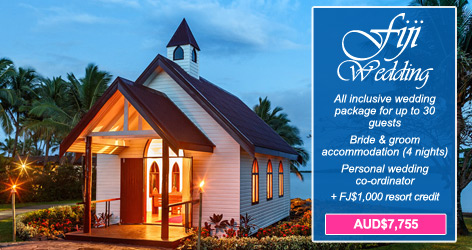 sofitel fiji wedding package