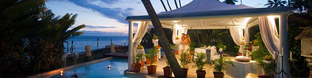Hideaway resort fiji wedding banner