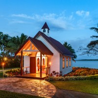 sofitel fiji resort and spa wedding chapel exterior 2