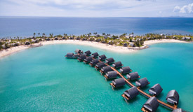 marriott over water bungalows fiji
