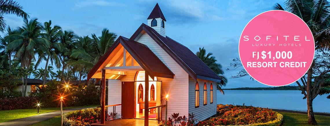fiji wedding package resort credit