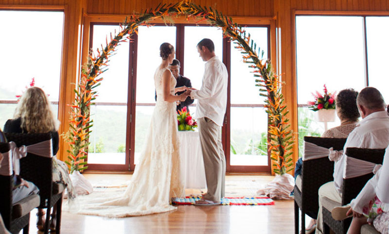 outrigger fiji beach resort wedding chapel