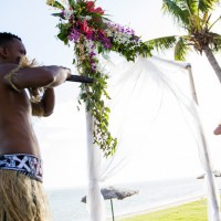 outrigger fiji beach wedding