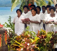 Qamea Resort & Spa – Wedding Choir