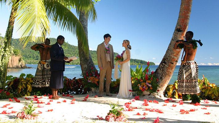 fiji weddings qamea resort