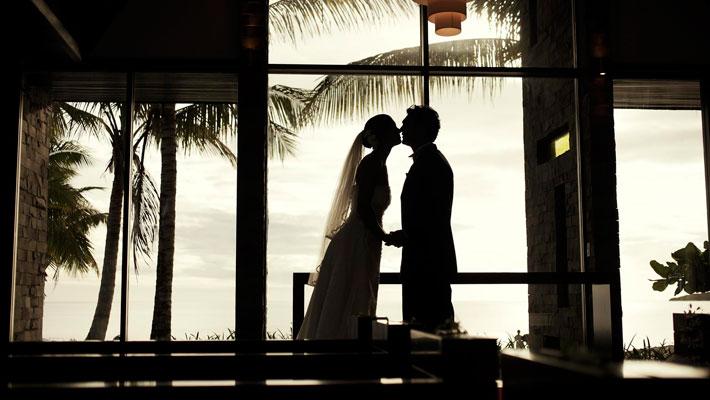 intercontinental resort fiji wedding