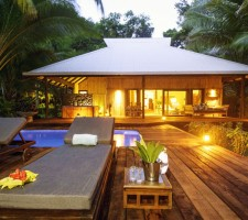 Qamea Resort & Spa – Beachhouse Exterior