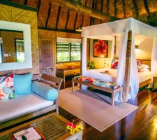 Qamea Resort & Spa – Honeymoon Bure Interior