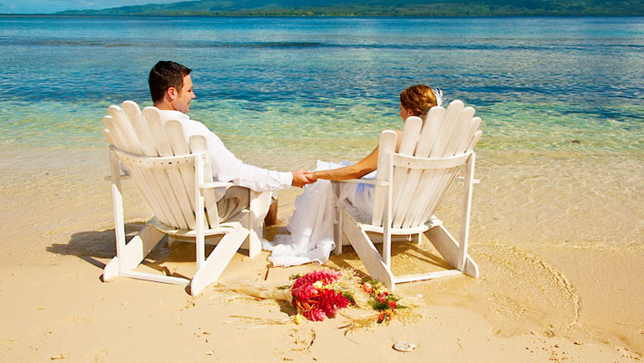 qamea resort fiji wedding packages