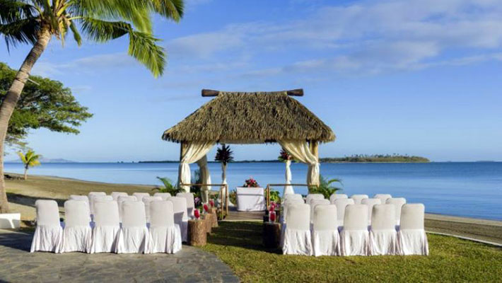 sofitel resort fiji small wedding
