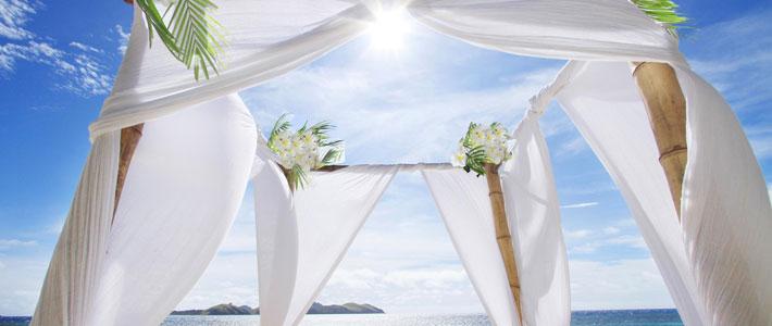 fiji beach wedding tokoriki island resort