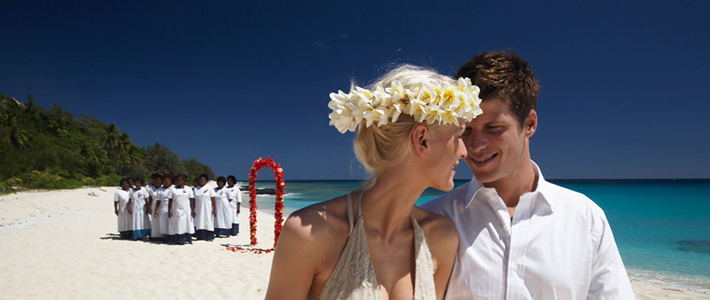 cruise wedding fiji