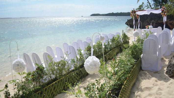 shangri la fijian resort fiji beach wedding package