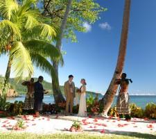 Qamea Resort & Spa – Wedding Package