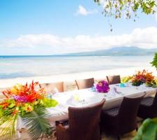 Qamea Resort & Spa – Wedding Dinner