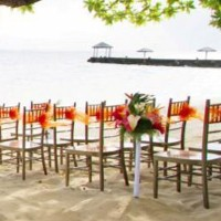 warwick resort fiji wedding beach