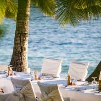 tokoriki island resort wedding setting